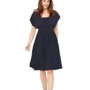 WHBM Genius Convertible Fit & Flare Dress SZ 10